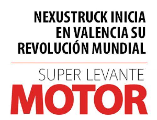 Nexustruck inicia en Valencia su revolución mundial.