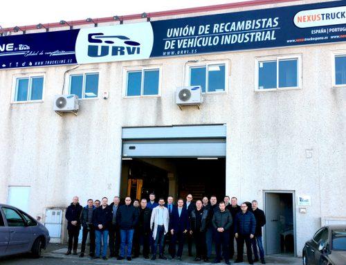 Visita del socio lituano de NEXUS a las instalaciones de la red de distribución URVI y sede de NEXUSTRUCK de la Península ibérica.