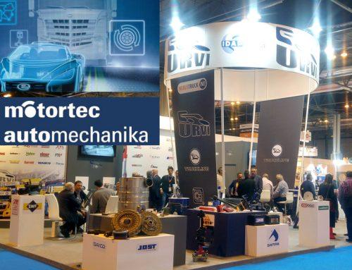 Urvi estuvo presente en el Motortech Automechanika 2019 Madrid